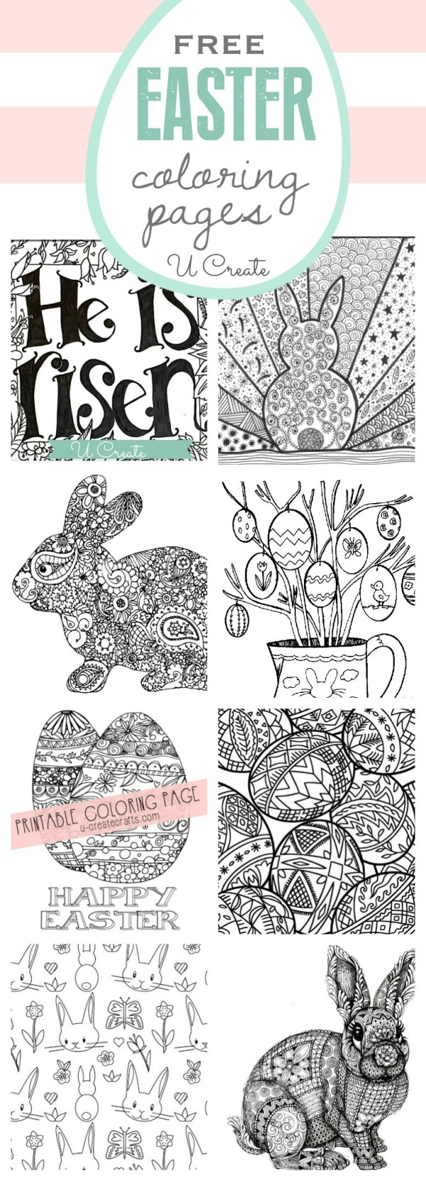 easter coloring pages free # 65