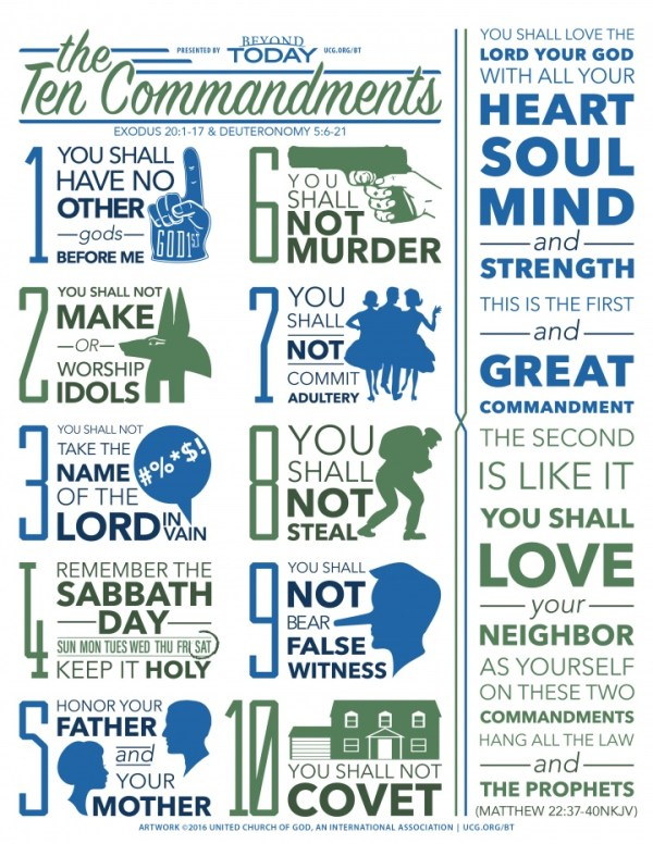 10 commandments of god # 17