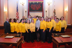 UFCW Locals 8, 1428 and Western States Council with Sentator Connie Leyva.
