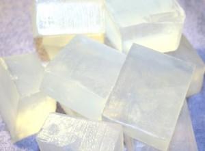 پایه صابون برای ذوب شدن