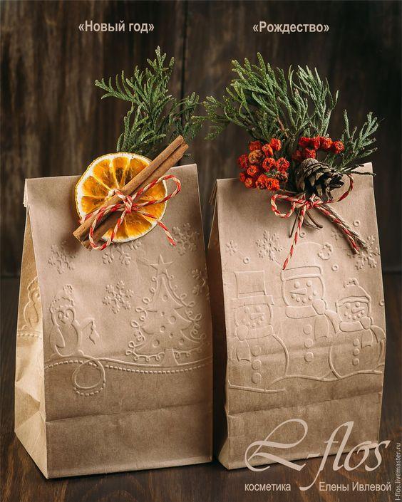 Сыйлық қаптамасы Жаңа жыл және Рождество