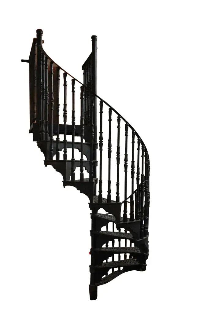 Cast Iron Black Spiral Staircase Amp Landing By Elite