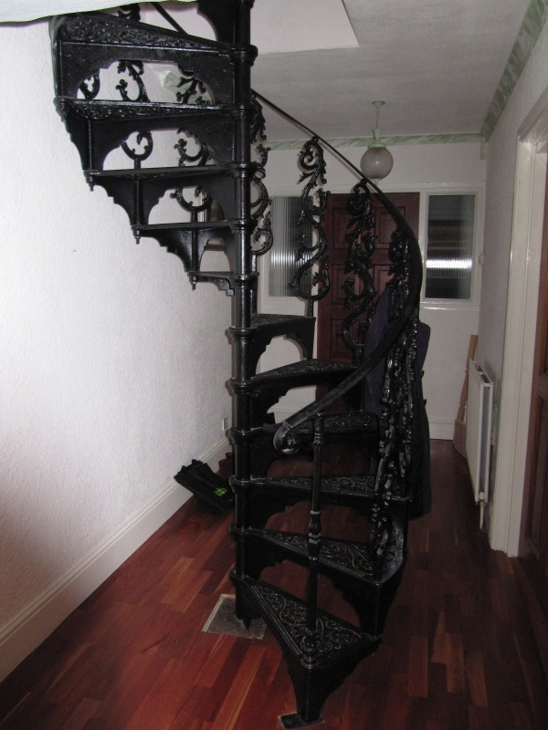 Spiral Staircase And Stairs For Sale In The Uk | Used Metal Spiral Staircase For Sale | Stair Parts | Cast Iron | Foshan Demose | Wrought Iron | Stair Case