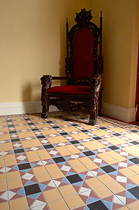 Armatile S New Cathedral Range Of Victorian Floor Tiles