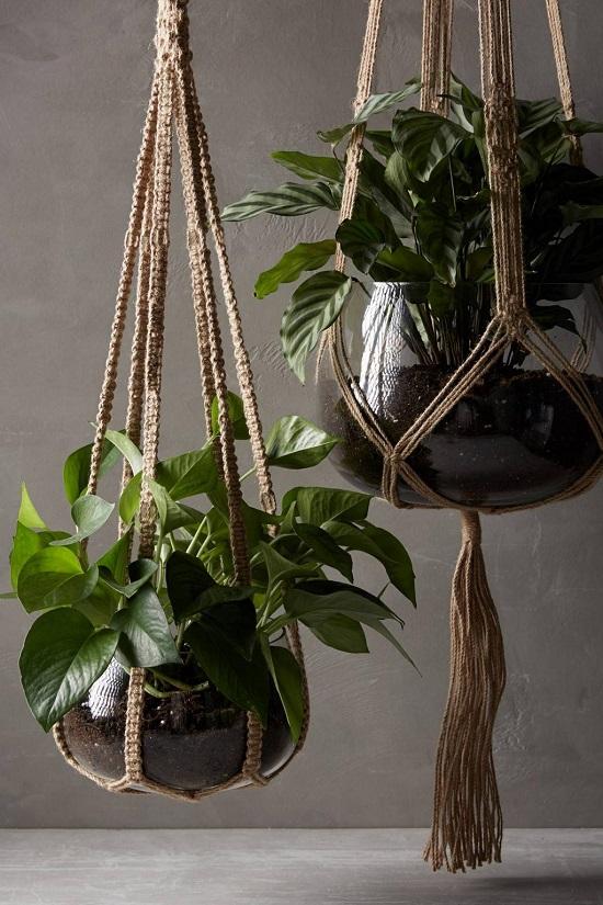 Large Indoor Hanging Planters