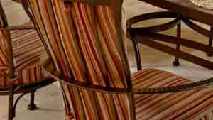 Monterra Dining Chair Back Cushion Ultra Modern Pool Patio