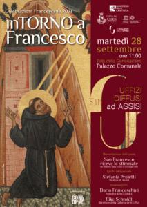 """Dagli Uffizi ad Assisi l'opera """"San Francesco riceve le stimmate"""""""
