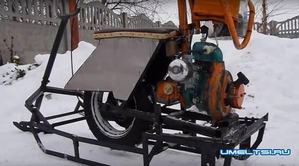 Ang snowmobile mula sa undergraduate ay nangangahulugang gawin mo ito