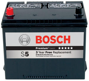 Bosch Launches Comprehensive Battery Program  Introduces New     Bosch  a global premium battery brand  is launching a comprehensive automotive  battery program in the continental United States with the introduction of