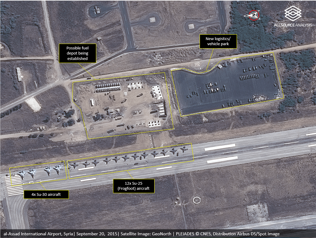 Map Room   Institute for the Study of War Al Assad Airport Latakia 20 SEPT 2015