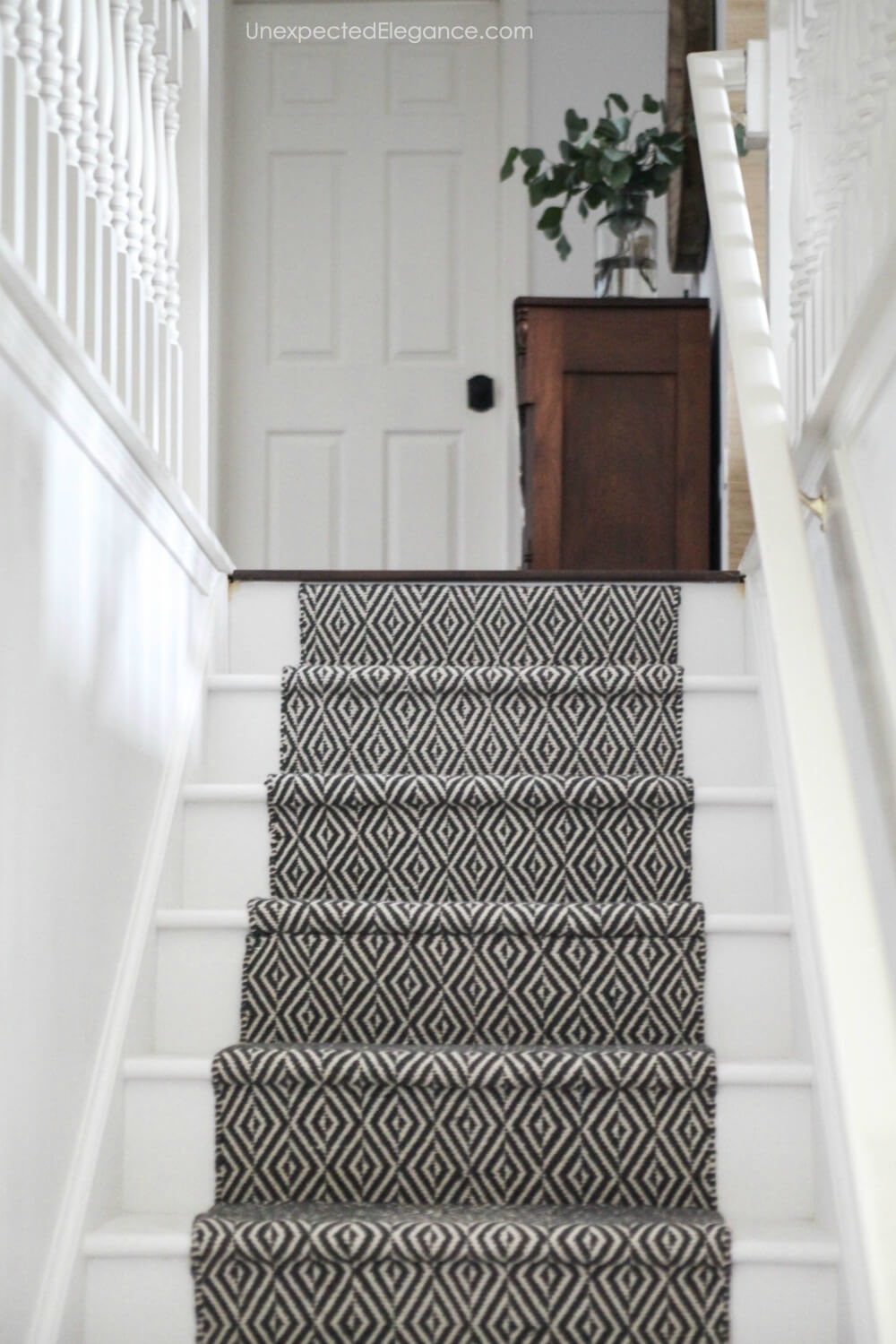 How To Replace Carpet With An Inexpensive Stair Runner For Around 100 | Stair Runners For Carpeted Steps | Flooring | Youtube | Stair Rods | Wood | Rugs