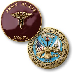 United States Army Nurse Corps Coin