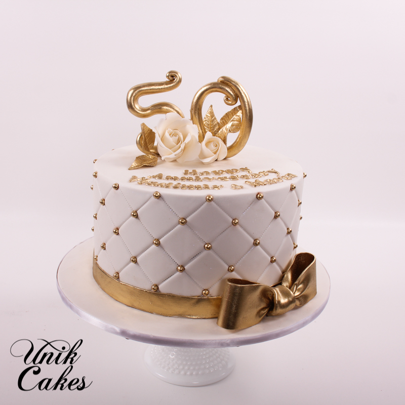 Quilted Baptism Cakes