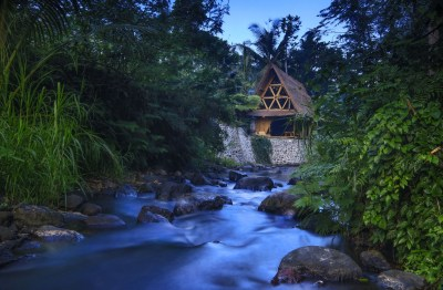 Hideout Bali - Off-grid eco bamboo home