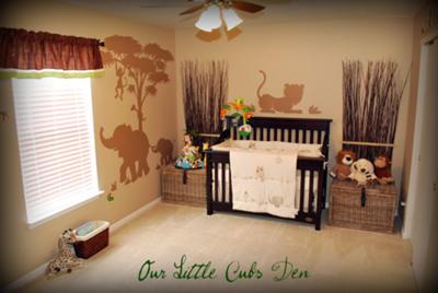 Safari Nursery Decorating Ideas