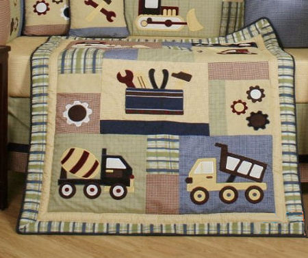 Baby Construction Nursery Themes And Bedding Sets