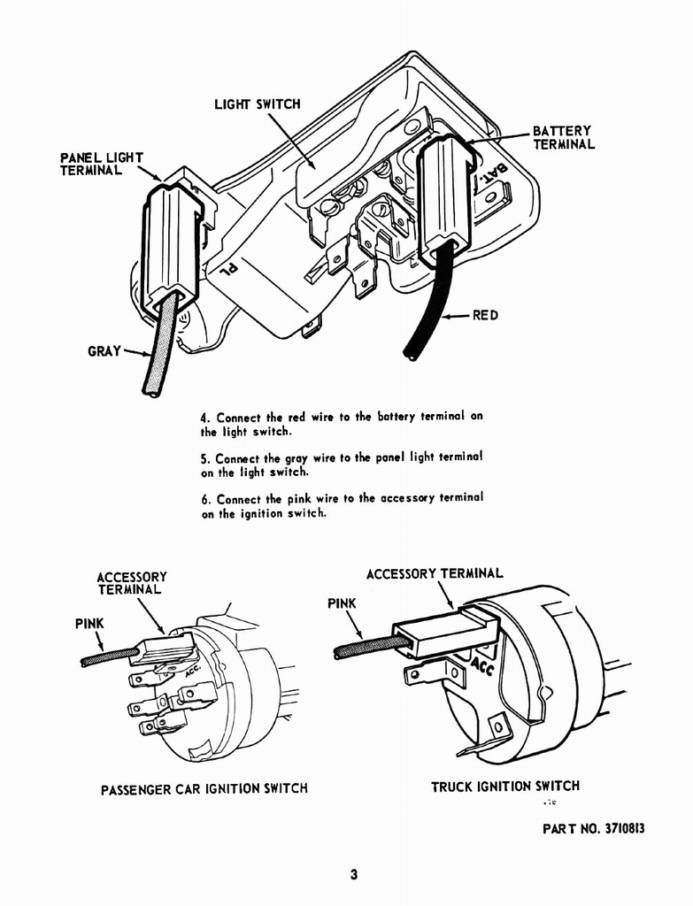 1955 chevrolet accessories manual page 5