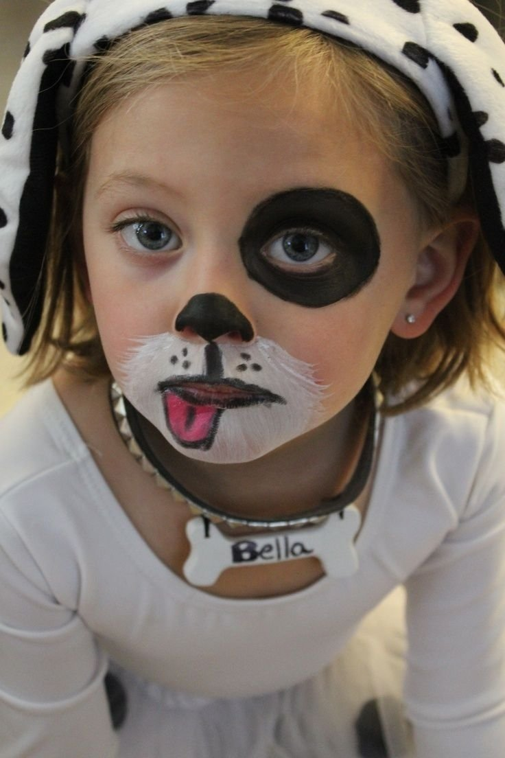 10 Fantastic Face Paint Ideas For Kids 10 Fantastic Face Paint Ideas For Kids simple face painting ideas for kids  a she dogface