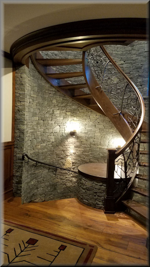 Wooden Spiral Stairs Custom Made By Unique Spiral Stairs