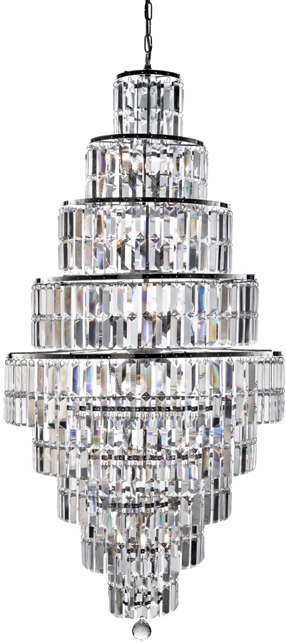 crystal chandelier tiered # 34