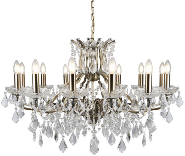 crystal chandelier traditional # 40