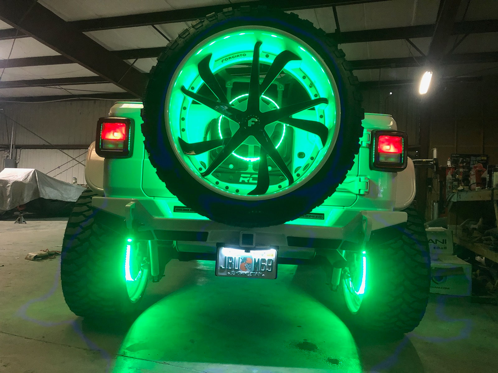 Motorcycle Led Lights Installation