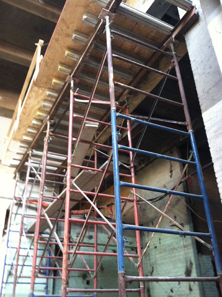 Tower Scaffold Beams