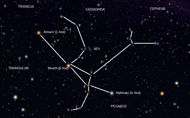 The Andromeda Constellation - Universe Today