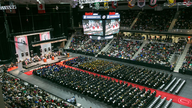 Heavy Traffic Expected During Commencement At Baxter Arena