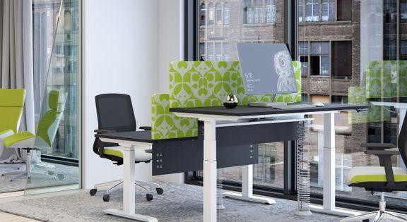 Standing Desk Sit Stand Height Adjustable Computer Desks