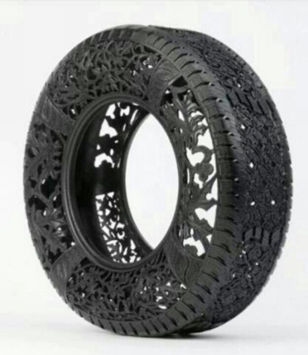 Craft Ideas With Old Tires