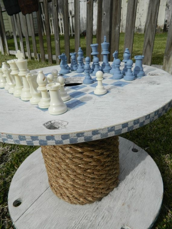 Small Wooden Garden Table