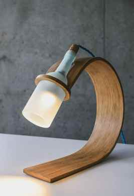 QUERCUS  Stylish Sustainable desk lamp by Max Ashford
