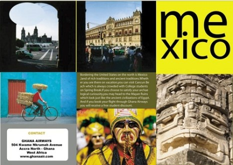 17 Great Travel Brochure Examples Fit for Globetrotters   UPrinting mexico travel brochure