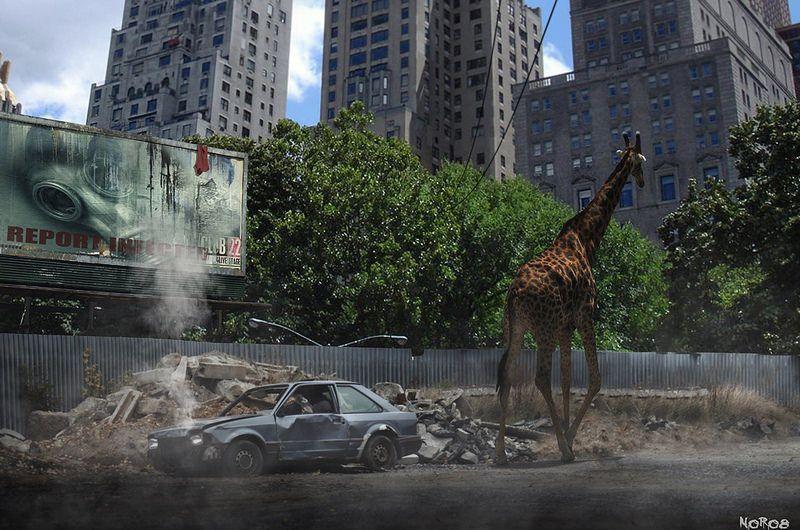 Apocalypse Concept Art City