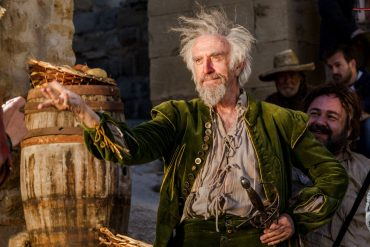 Jonathan Pryce stars in Terry Gilliam's The Man Who Killed Don Quixote
