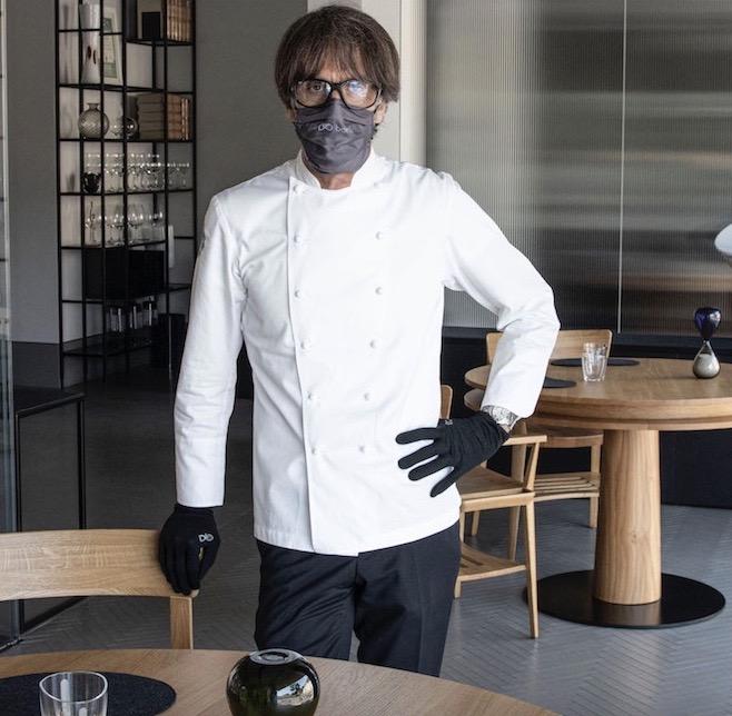 Lo Chef Oldani riapre il suo D'O con le vernici igienizzanti di Milesi
