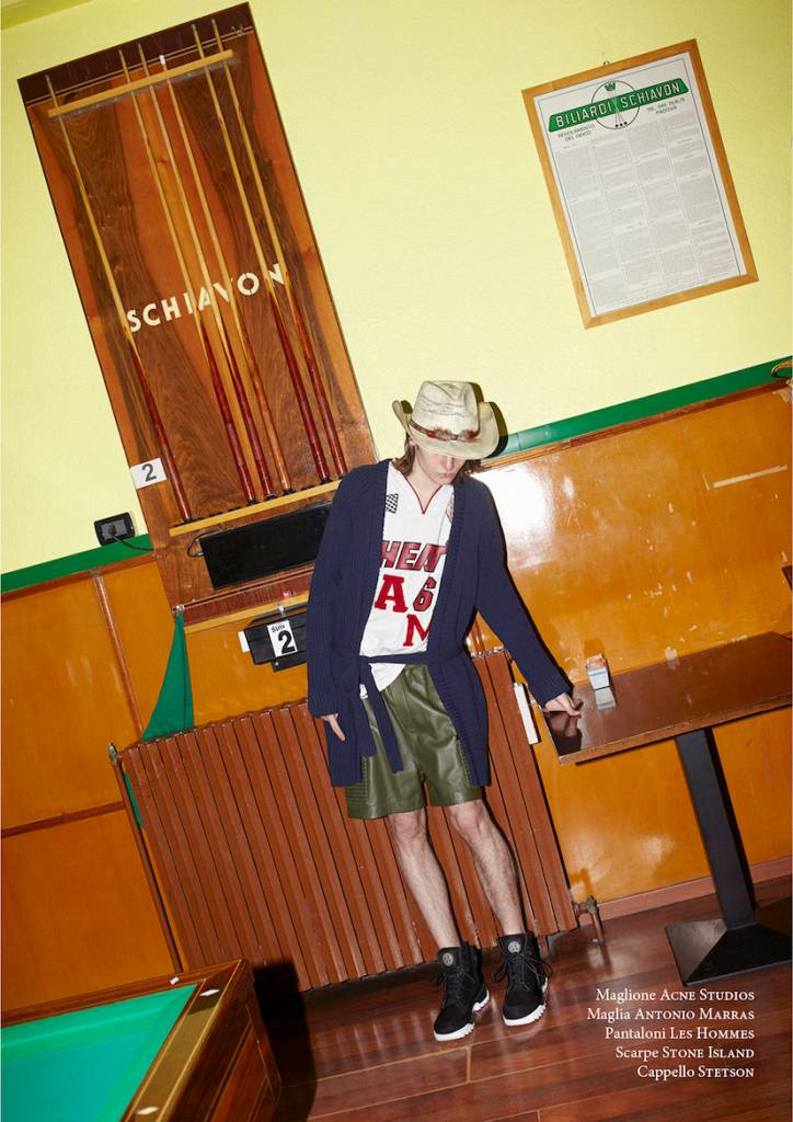 cowboy illusion - editorial  photo simon style alex vaccani - urban magazine