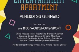 entertainment apartment workshop evento e-sport
