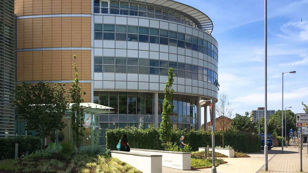 North Entrance Hse Headquarters Liverpool Urban Wilderness