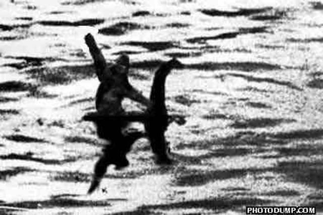 Loch Ness Monster Proof