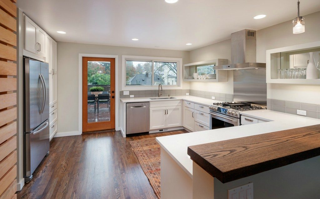 Galley Kitchen Remodel And After