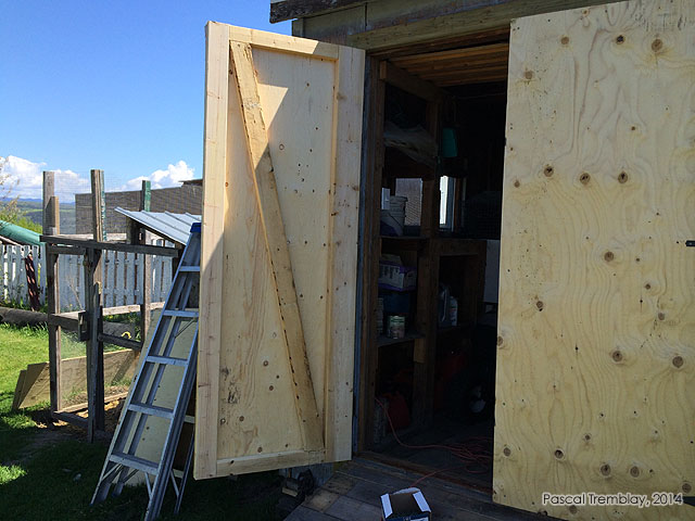 How To Install A Shed Door Measure Make Amp Install Doors