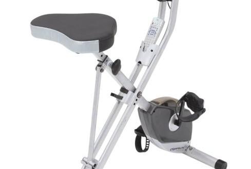 Exerpeutic 1200 Folding Magnetic Upright Bike