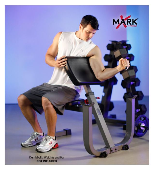 Xmark Xm 4436 Seated Preacher Curl Review