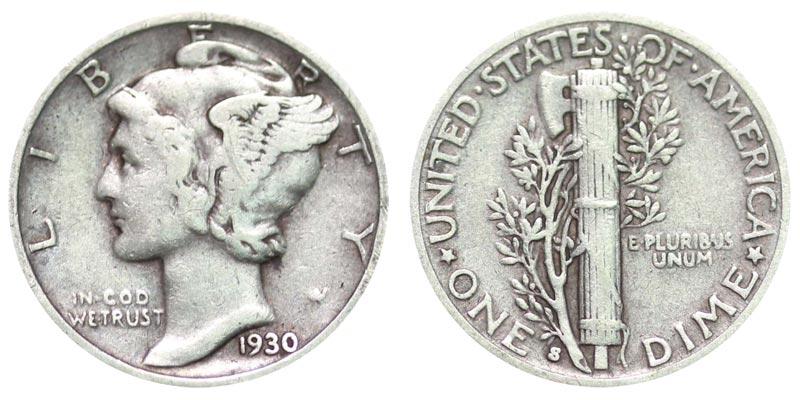Mercury 1941 Dime Value Chart