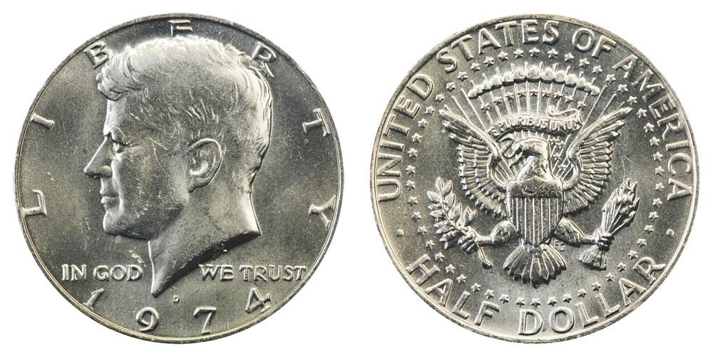 1974 Kennedy Half Dollar Value