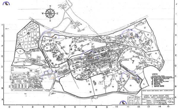 Map Of Vilseck Germany Army Base.Map Of Grafenwoehr Army Base Billy Knight