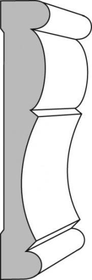 Crown Moulding Pattern 51