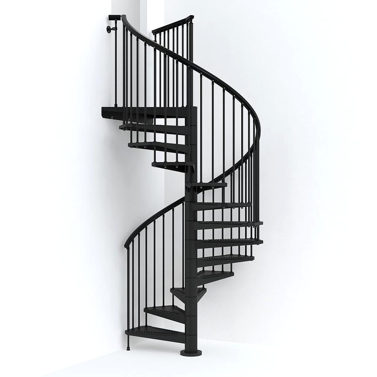 Spiral Staircase For Sale Only 2 Left At 65 | Wooden Spiral Staircase For Sale | 3 Floor | Twist | Wrought Iron | 36 Inch Diameter | Free Standing